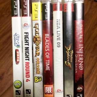Original PS3 GAMES