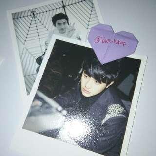 EXO Overdose Polaroids (D.O, Sehun, Unit)