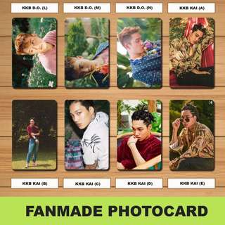 Exo Fanmade Photocards Set 2