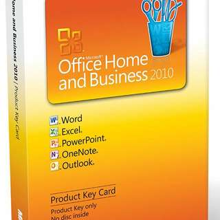 Microsoft Office Home & Business 2010 License/Product Key