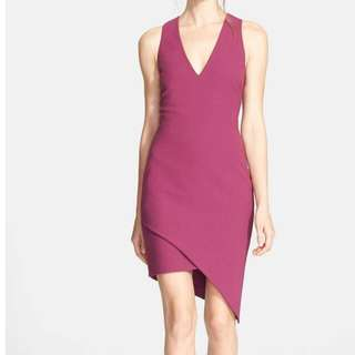 Elizabeth and James Rosa Sheath Asymmetrical Hem Dress