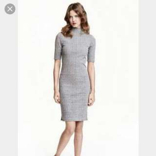 Grey Bodycon Dress By Magnolia Collection