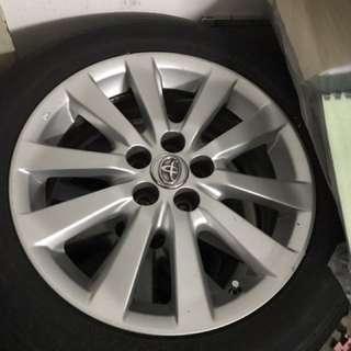 "Toyota Altis Original Rim 16"""