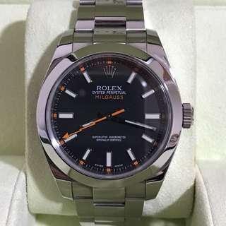 WTS Rolex Milgauss 116400
