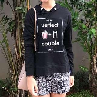 Hoodie Perfect Couple Bershka