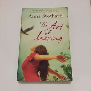 The Art Of Leaving by Anna Stothard (Paperback)