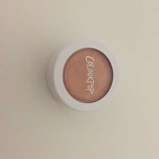 Colorpop Eyeshadow And Highlighter