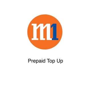 M1 Prepaid Top Up