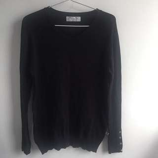 Dixie Black Sweater
