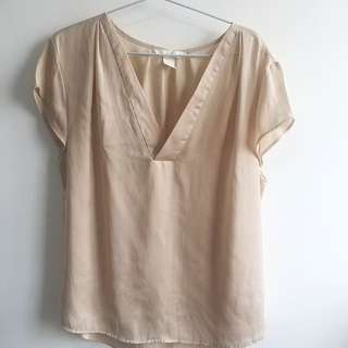 H&M Concious Brown Top