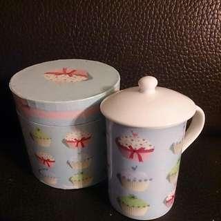 Fine Cake pattern Bone China Mug 蛋糕骨瓷 圖案(代友出售)