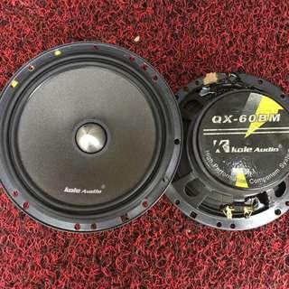 Kole Audio Qx-60bm 6inch Mid Bass Speaker