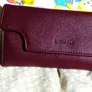 Authentic Michaela Wallet