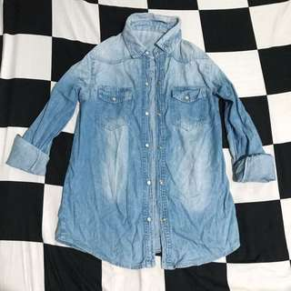 DENIM BUTTONDOWN