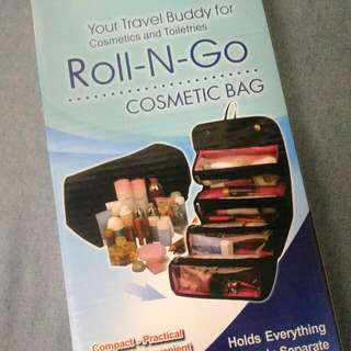 Roll and Go Cosmetic Travel Bag