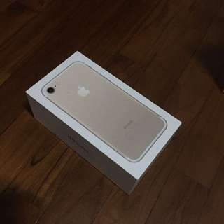 Iphone 7 128gb Gold (Brand New)