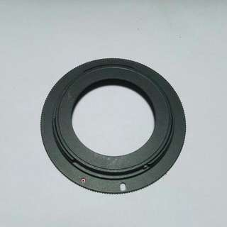 m42 to canon adapter for manual lens