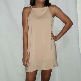New Beige Weekend Dress