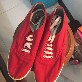Marks And Spencer Shoes Red