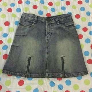 Mini Skirt Rok Jeans