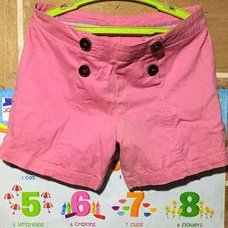 Herbench pink shorts