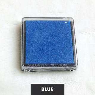 BN Mini Blue Scrapbook Crafting DIY Rubber Stamp Ink Pad