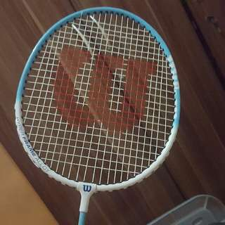 ⚄ preloved Wilson Badminton Racket