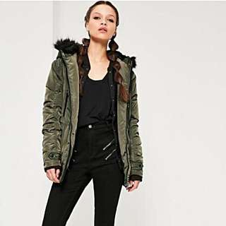 Misguided Fur Parka