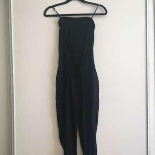 New Aritzia Talula XS Jumpsuit Black