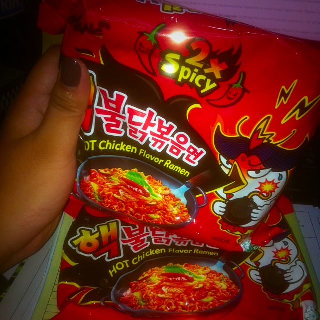 2X KOREAN SPICY NOODLES
