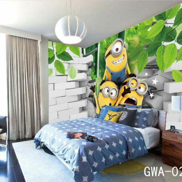 3D WallSticker