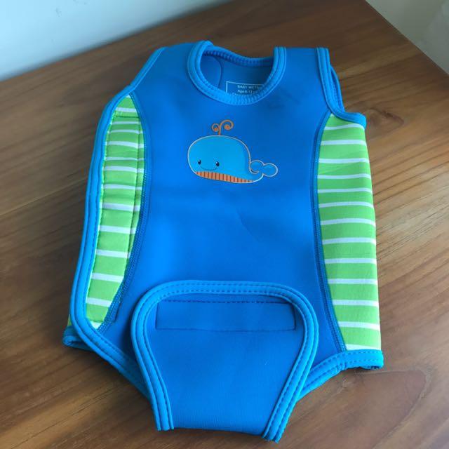 (6-12m) Baby Wetsuit