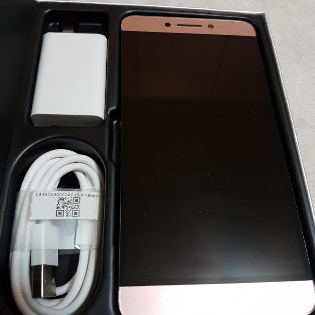 👍9成新~樂視MAX2手機4G/32G玫瑰金色~l