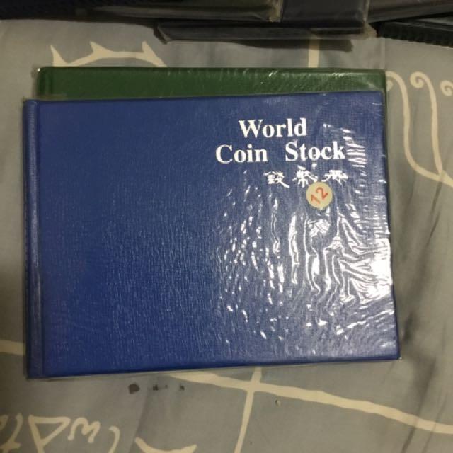 鈔票、錢幣珍藏冊
