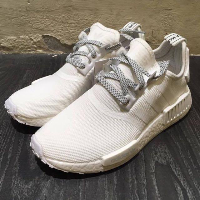 Adidas Nmd R1白反光