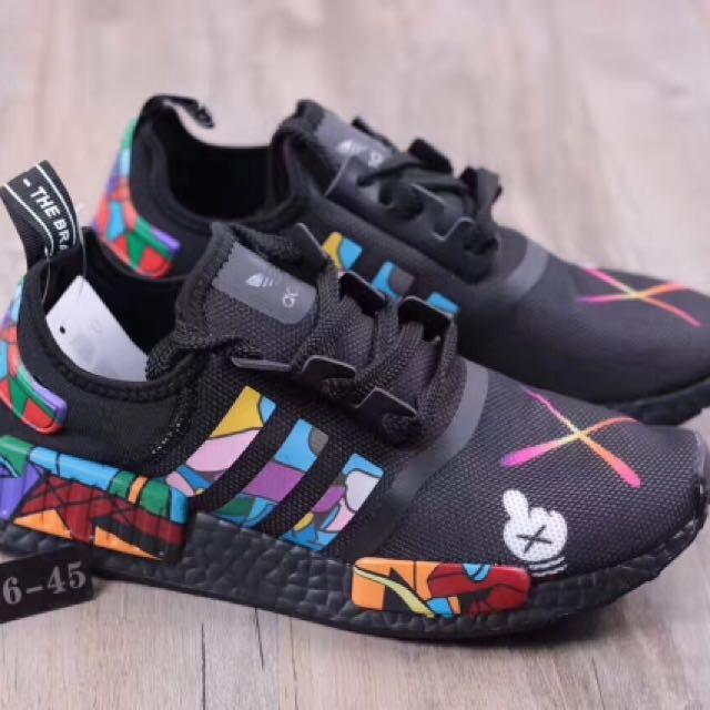 size 40 8b8f4 2f2a2 Adidas Nmd X Kaws, Men's Fashion, Footwear on Carousell