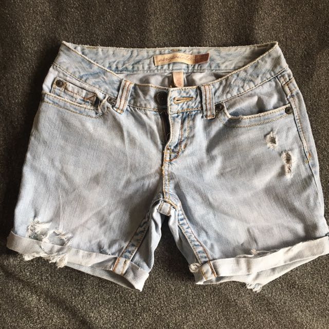 Aeropostale Mini Denim Shorts