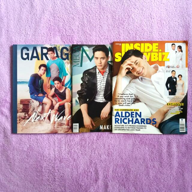 Alden Mag Covers