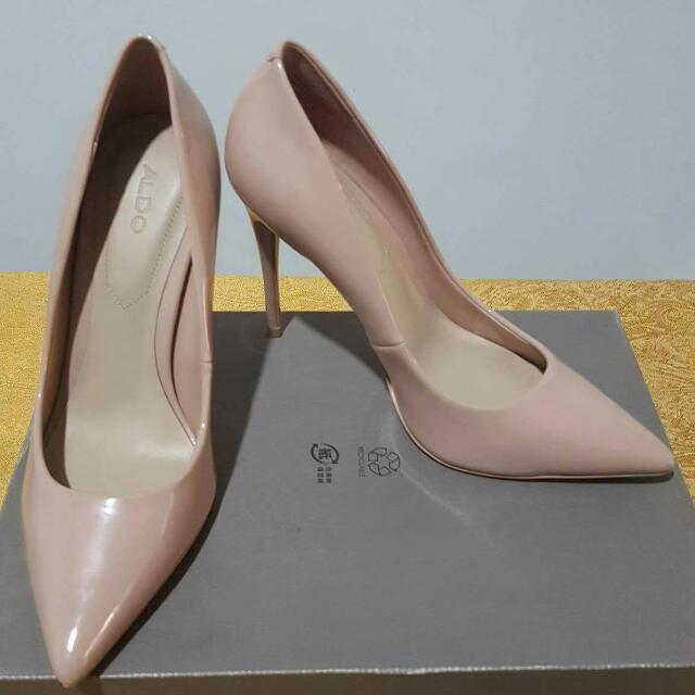 808819367df4 Aldo stessy nude point court shoes womens fashion shoes on carousell jpg  640x640 Aldo stessy