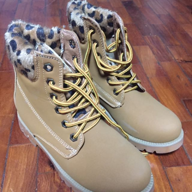 Animal Print boots From Spain
