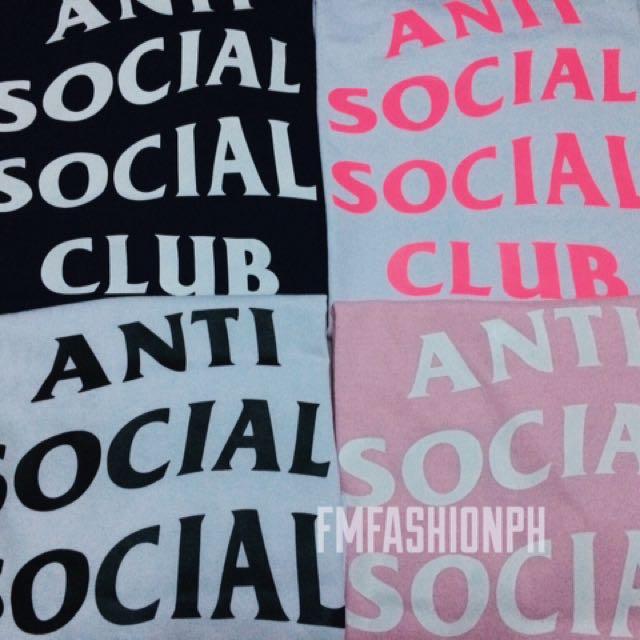 Anti Social Social Club Tee