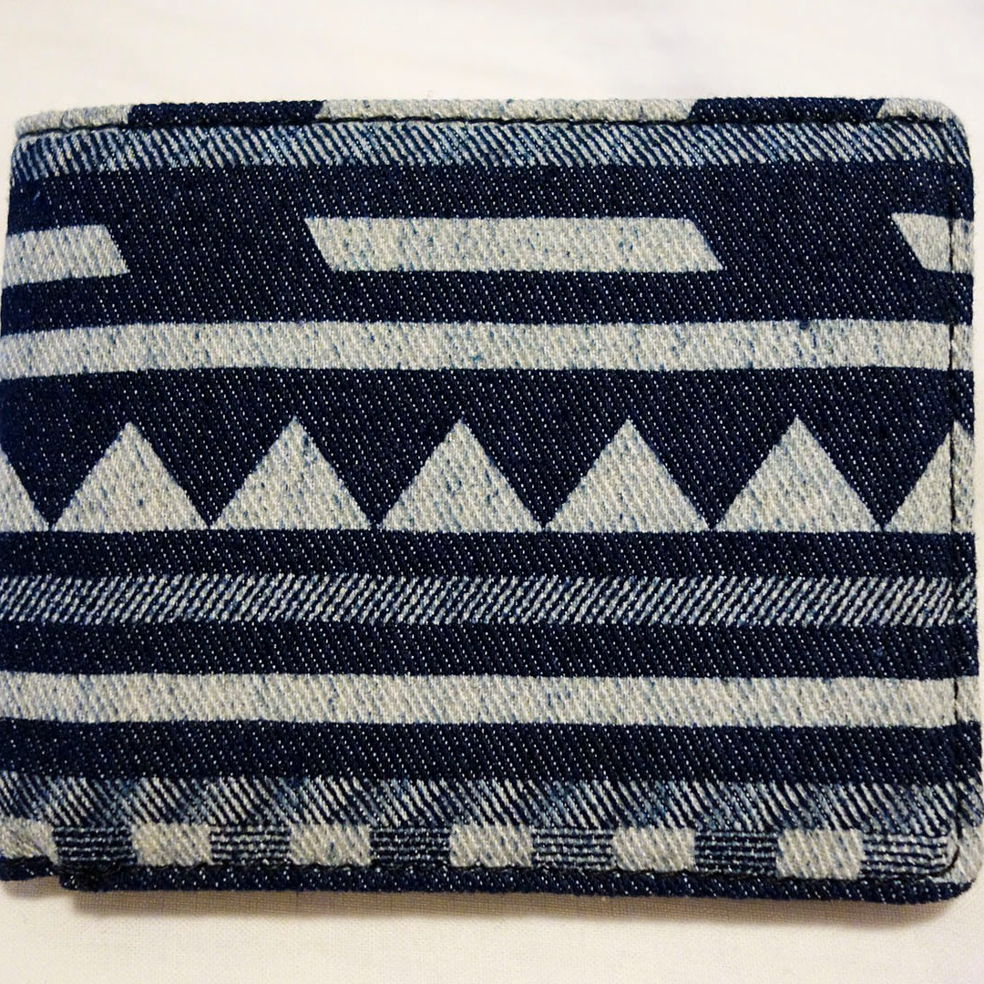 ASOS Denim Wallet - Aztec Print *Brand New*