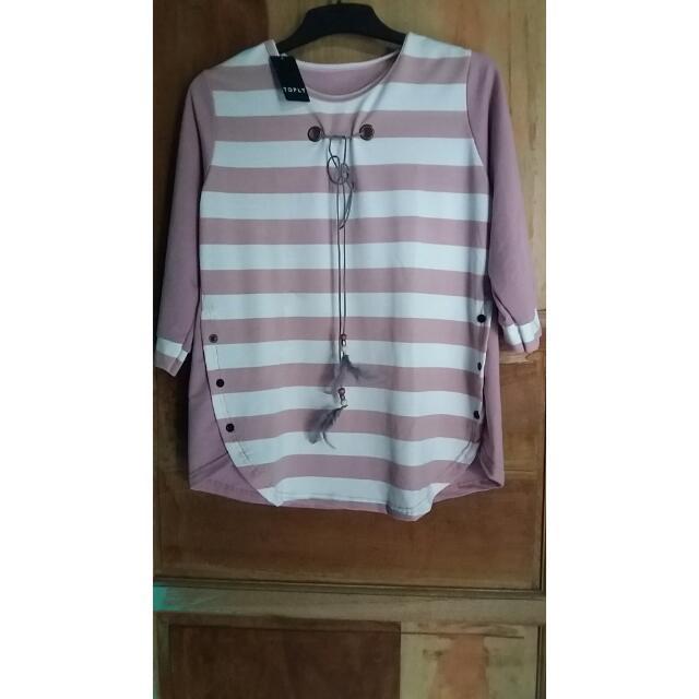 Atasan Kaos Pink