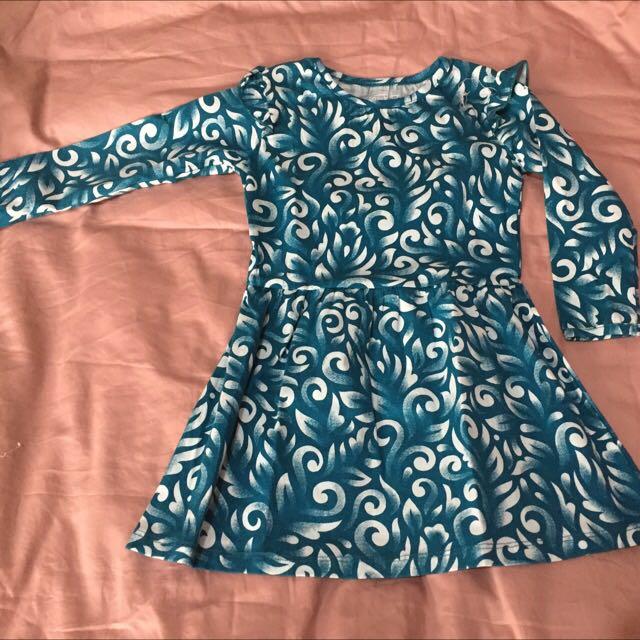 Baju Anak / Dress Anak Umur 3tahun