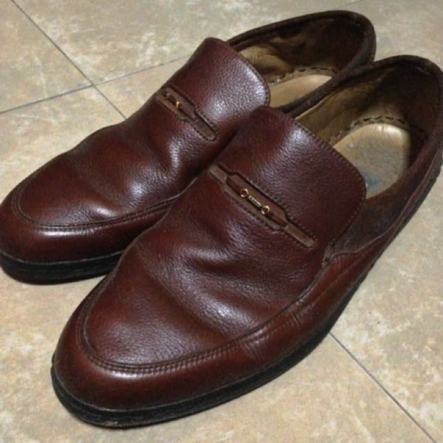 Bally Brown Leather Shoes