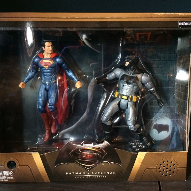 Batman vs Superman 2015 SDCC Mattel 全新未開封