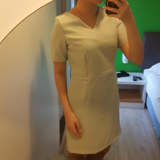 BKK Simple Dress Green Lime