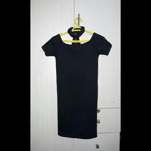 Black Choker Dress