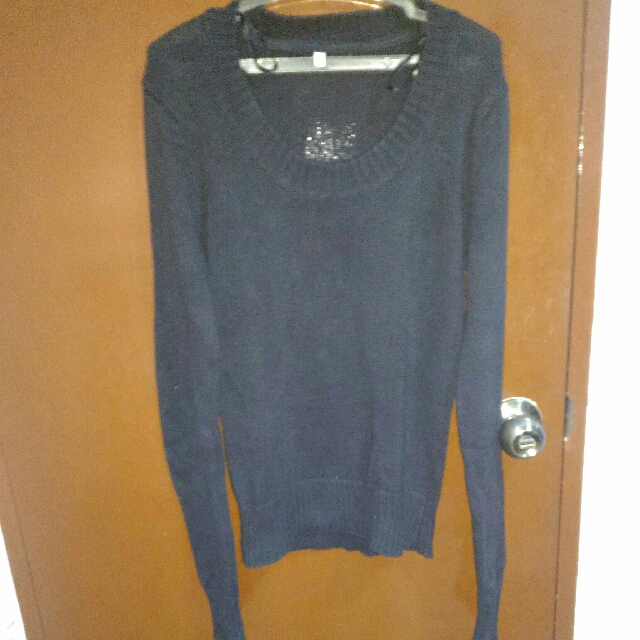 Black Sweater Small Size.