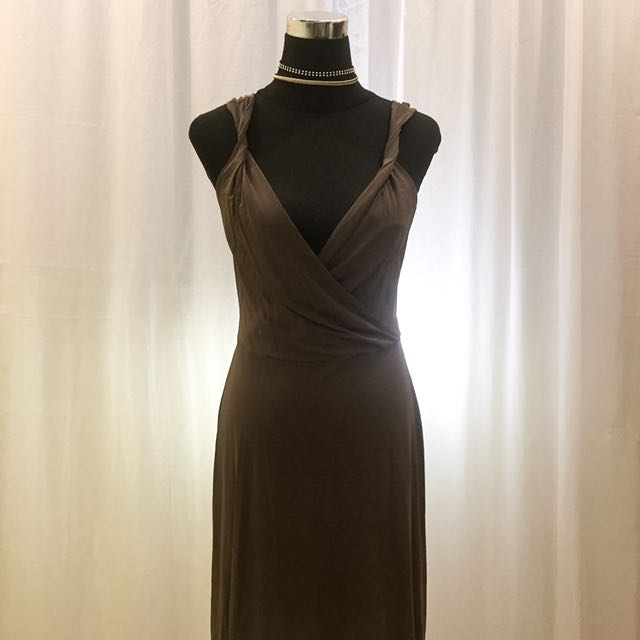 BOBBY BROWN (DOUBLE B) BROWN SEXY DRESS